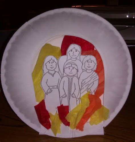 shadrach meshach and abednego craft for 3 hebrew boys in the fiery furnace crafts