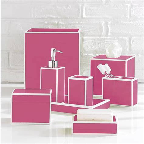 pink and blue bathroom accessories luxury pink bath accessory sets