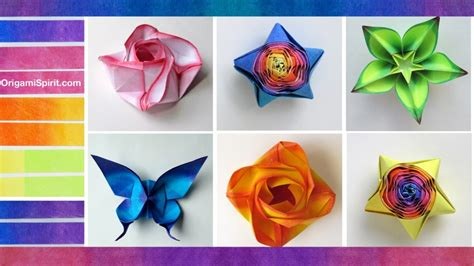 color paper crafts ideas free coloring pages how to color paper for origami and