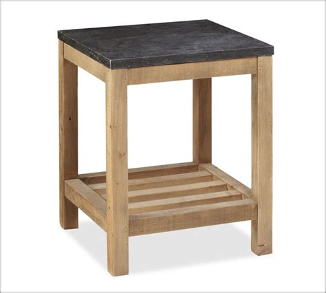 side table woodworking plans diy end table pottery barn knock