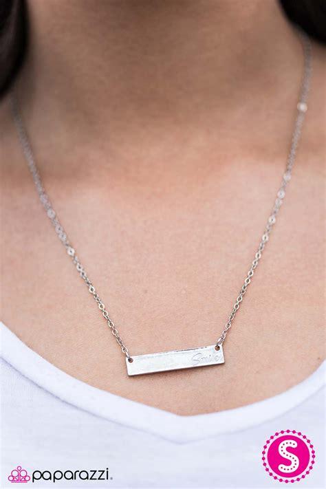 jewelry catalog keep smiling white paparazzi necklace paparazzi