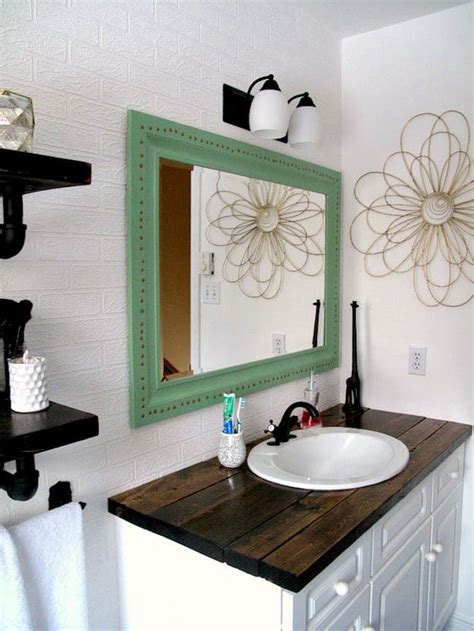 diy small bathroom ideas 7 chic diy bathroom vanity ideas for diy projects