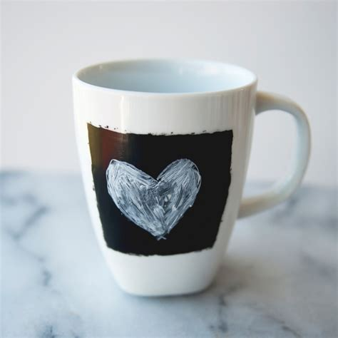 diy chalkboard coffee mug chalkboard coffee mugs martha stewart weddings