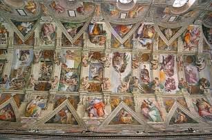plafond de la chapelle sixtine wikip 233 dia