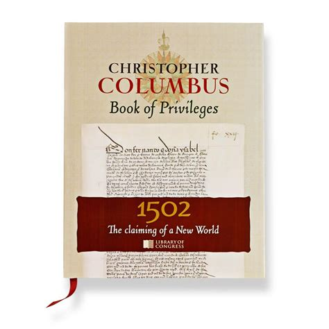 a picture book of christopher columbus christopher columbus book of privileges the claiming of a