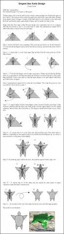 how to make an origami turtle origami sea