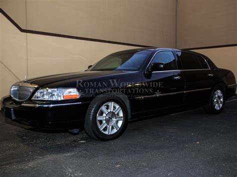 Town Car Service by 4 Passenger Town Car Service In Orange County