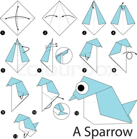 how to make a paper origami step by step free coloring pages to make origami 101 coloring pages
