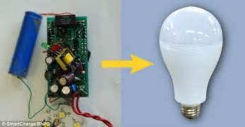 how to power lights with a battery smartbulb switches to rechargeable battery in a power cut