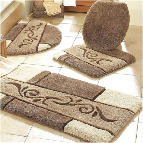 patterned bathroom rugs 25 best ideas about large bathroom rugs on