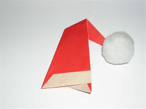 how to make a santa origami origami hats tag hats