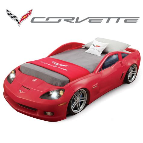 corvette bed corvette bed toddler to bed with lights concepts