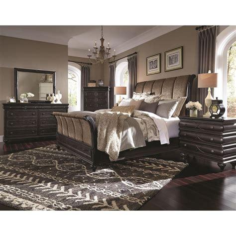 cal king bedroom furniture set hyland park vintage black 6 cal king bedroom set