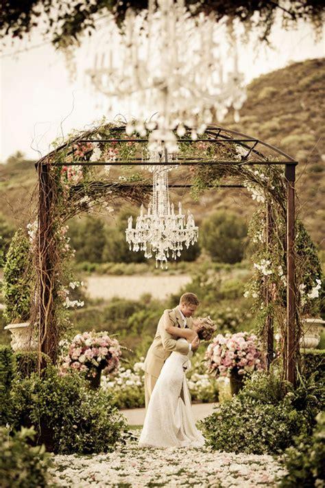 outside chandeliers outdoor wedding decorations chandeliers weddingelation