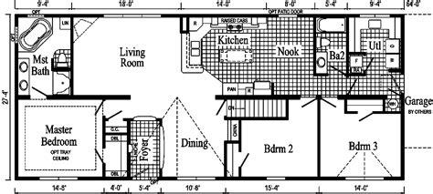 custom ranch floor plans the pennflex ii ranch modular home pennflex series standard as ranch style pennwest homes
