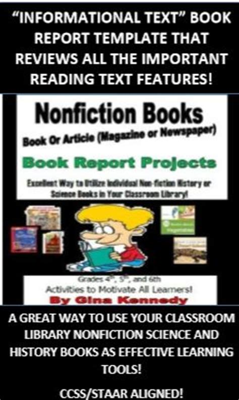 informational picture books activities book reports and student on