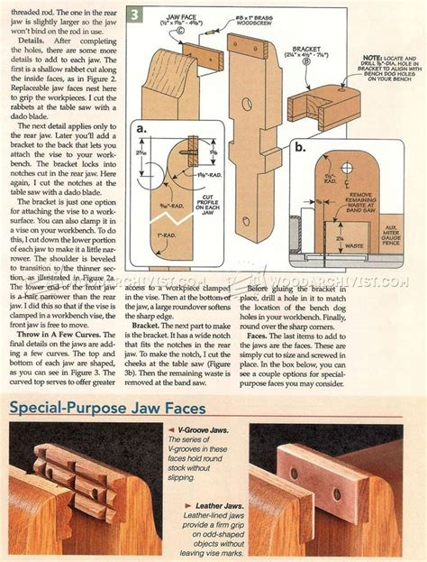 woodworking bench vise plans 1279 best images about woodworking on bench