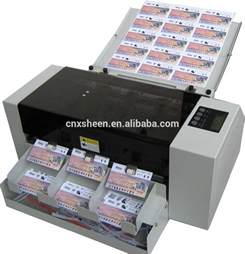 i card machine business card die cutting machine photo cutter machine id