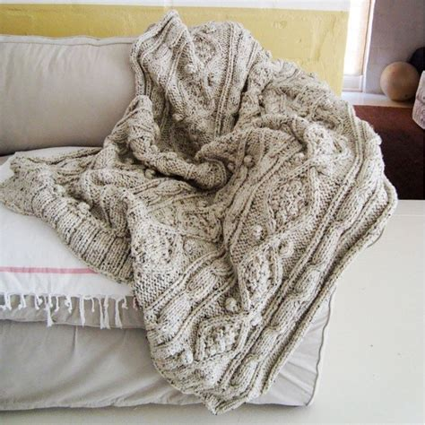 chunky cable knit throw blanket knitting pattern for chunky cable throw knitting