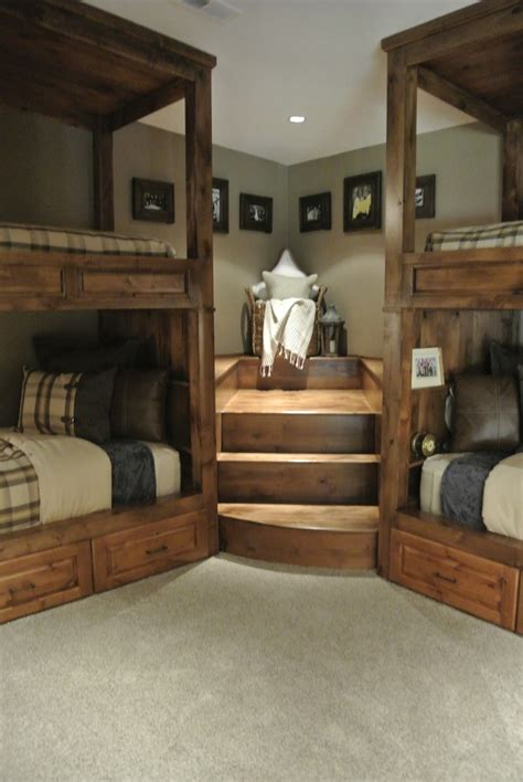 Bunk Room Floor Plans good looking bunk beds with stairs trend other metro