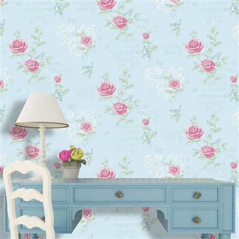 shabby chic bedroom wallpaper beautiful shabby chic wallpaper and wall coverings the