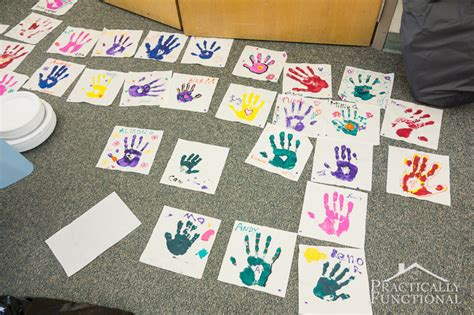 family reunion crafts for family reunion handprint crafts