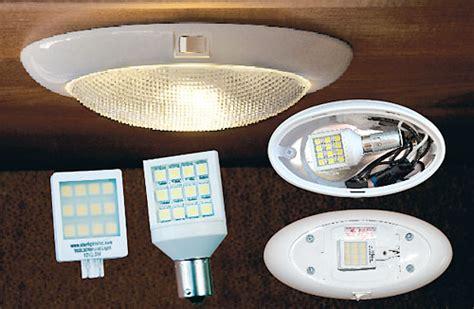 rv led light bulbs lights revolution led bulbs review motorhome magazine