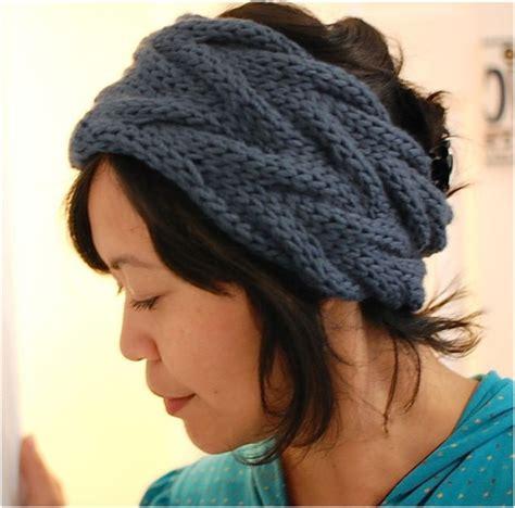 knitting headband pattern top 10 warm diy headbands free crochet and knitting