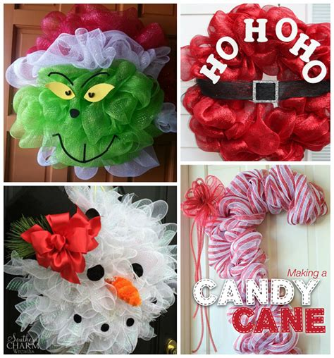 decorations with deco mesh deco mesh wreath ideas crafty morning