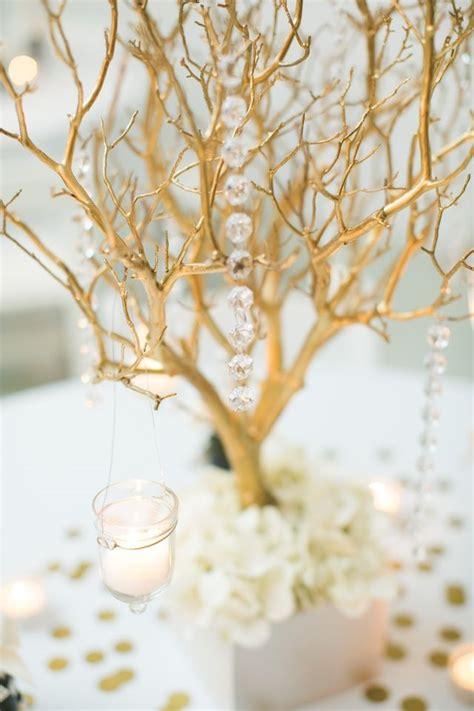 wedding centerpiece branches impressive budget wedding decor ideas weddingelation