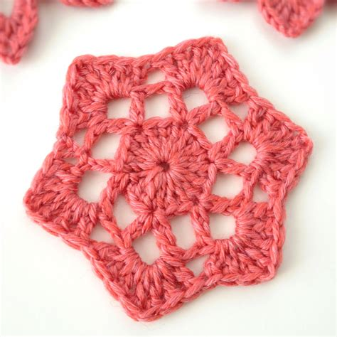 crocheting with crochet motif 53 from beyond the square crochet motifs