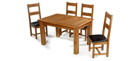oak extending dining table and 4 chairs barham oak 132 198 cm extending dining table and 4 chairs