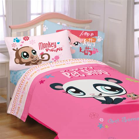 shop for bedding sets pet shop littlest bedding bed sheet set size ebay