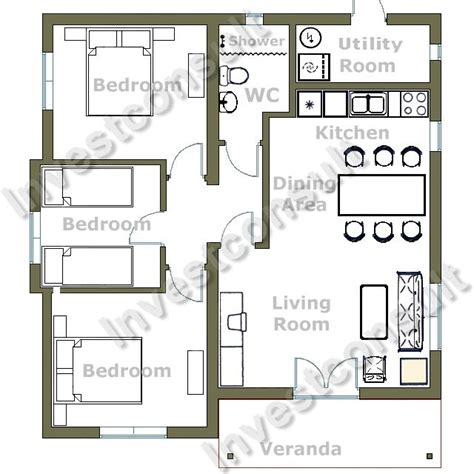 home plan ideas gorgeous modern style two bedroom house plans design ideas