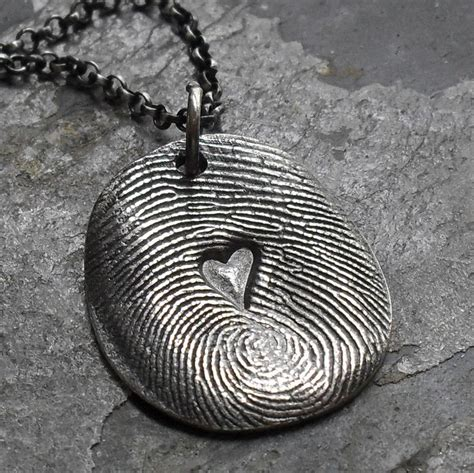 how to make fingerprint jewelry silver how to make fingerprint jewelry