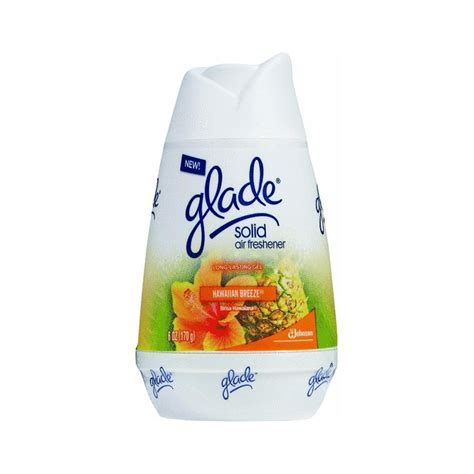 air freshener glade solid air freshener hawaiian 6 oz 170 g