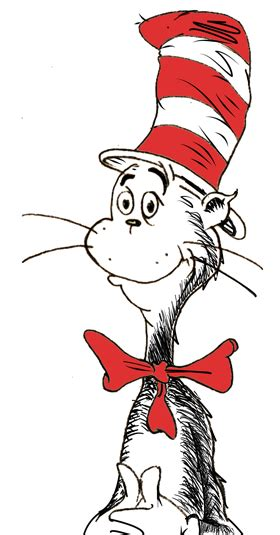 for cat in the hat dr suess on the side