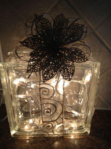 glass craft glass block decoration 187 take six