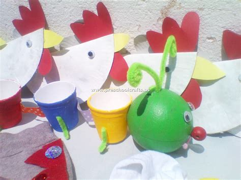 chicken crafts for chicken craft and pencil craft from paper cup