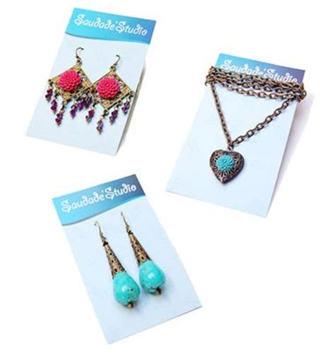 how to make jewelry cards earring cards that are also necklace cards jewelry