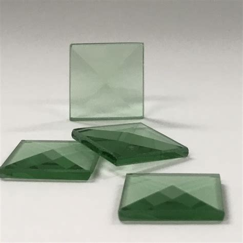 square glass square colored glass bevel 3 4 x 3 4 glass house store