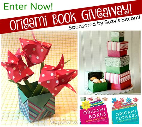 origami flowers book origami flowers and boxes book giveaway