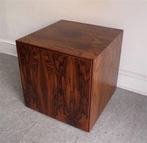 mid century modern furniture philadelphia mid century modern rosewood storage cube end table