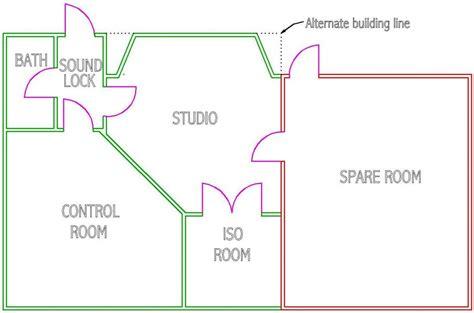 floor plan concept floor plan concept most used for recording studios