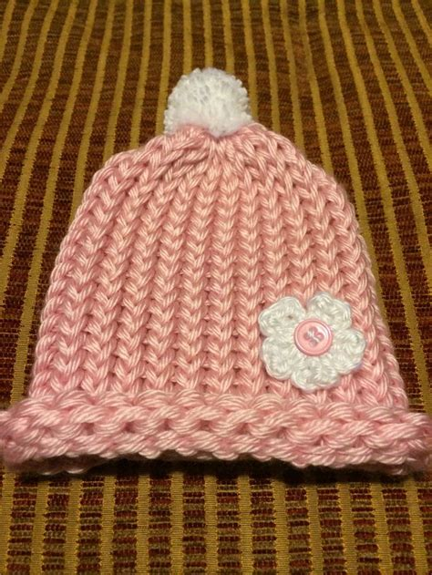 loom knit newborn hat 17 best images about knitting on stitches