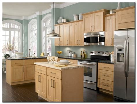 paint colors for kitchen with light cabinets employing light color theme in kitchen cabinets design