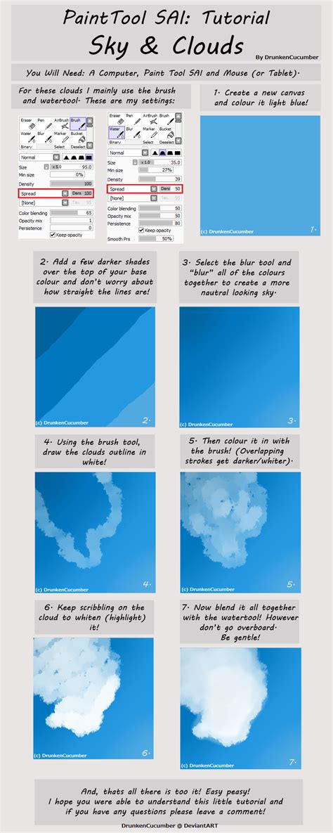 drawing with paint tool sai tutorial paint tool sai cloud tutorial by drunkencucumber on