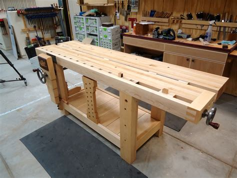 best woodworking split top roubo workbench the wood whisperer guild