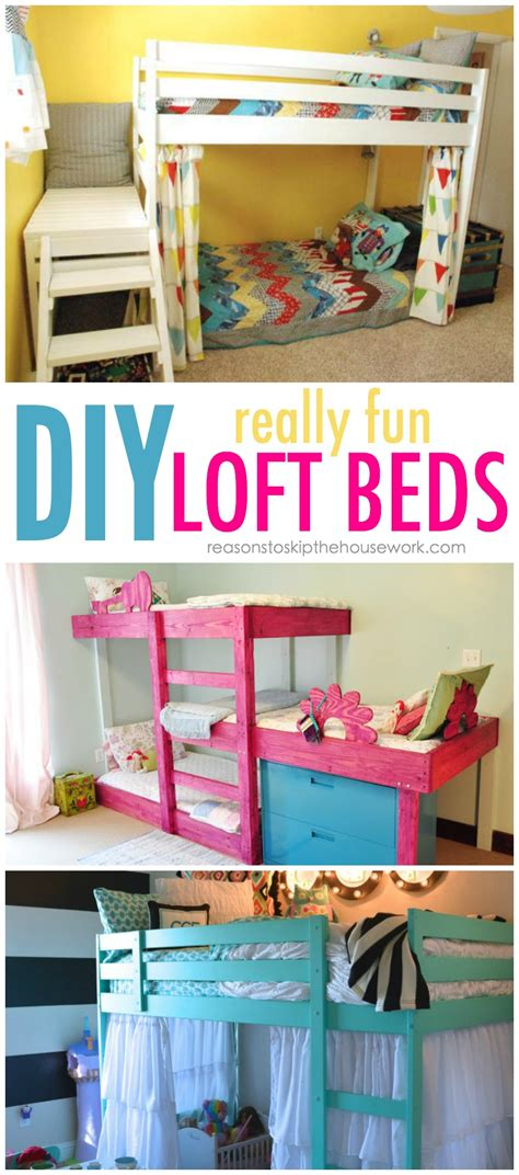 how to make built in bunk beds diy bunk beds tutorials and plans
