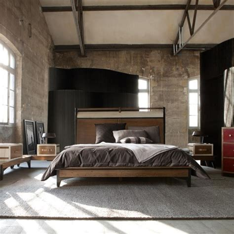 industrial bedroom design ideas 70 stylish and masculine bedroom design ideas digsdigs